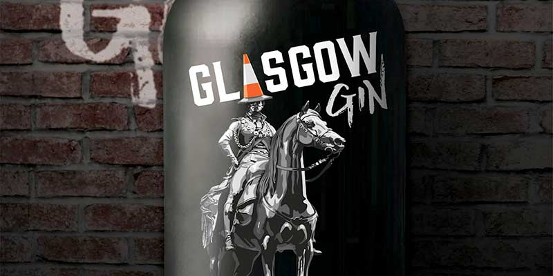 Glasgow Gin saddles up for gallus new look
