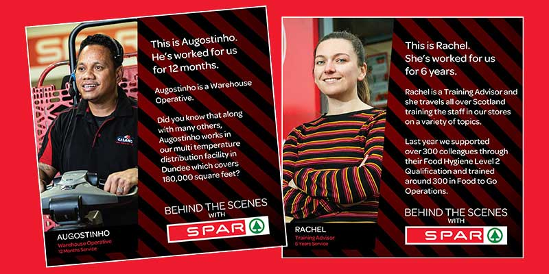 SPAR Scotland recognises colleagues working behind the scenes