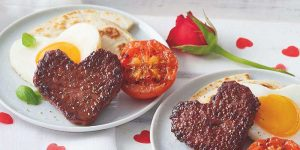Love Heart Lorne sausage