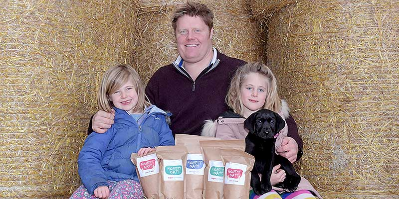 Family launches new brand of organic gluten-free porridge oats