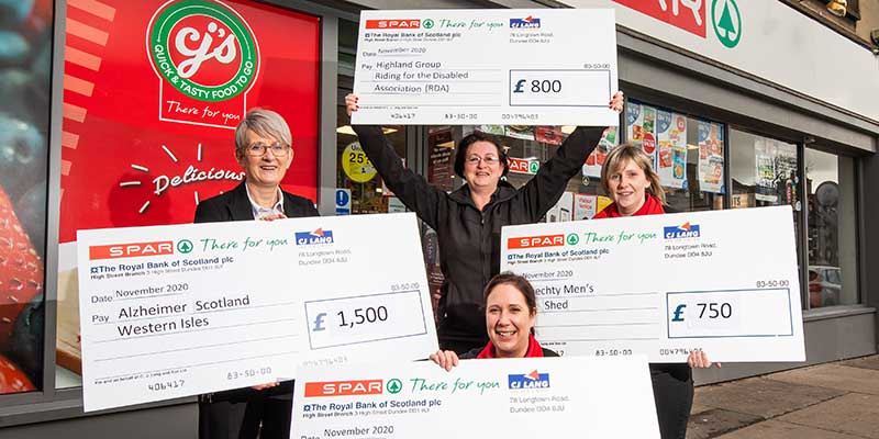 SPAR Scotland gives more cash back to communities