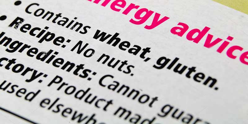 Improved allergen labelling becomes law