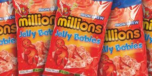 Millions Iron Brew Jelly Babies