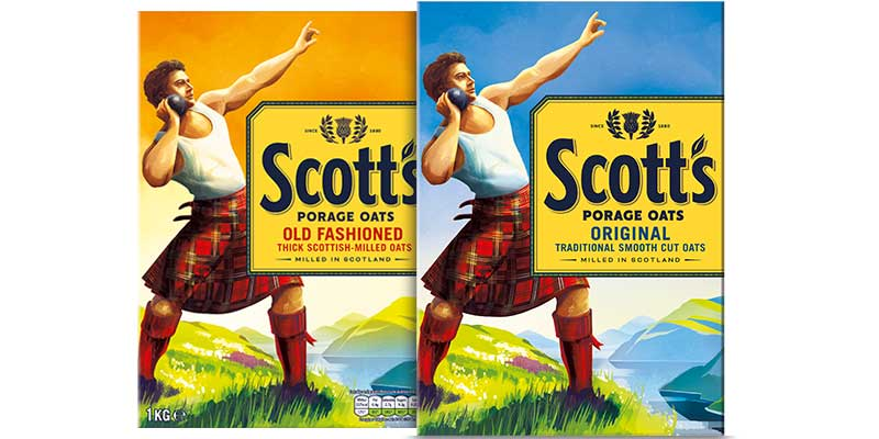 Scott's revamps oats