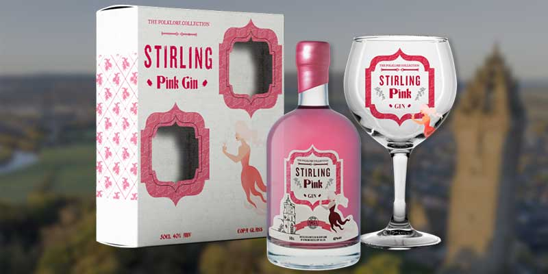 Stirling Pink Gin gift set