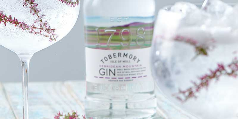 Tobermory Mountain Gin on top of the world