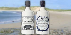 Rose Rose gin and Holy Grass vodka
