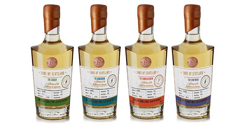 Stirling Distillery completes Sons of Scotland whisky range