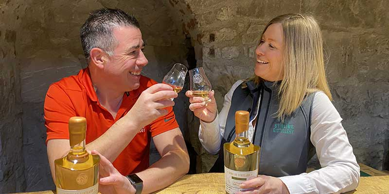 Stirling Distillery changes tack and sees sales rise