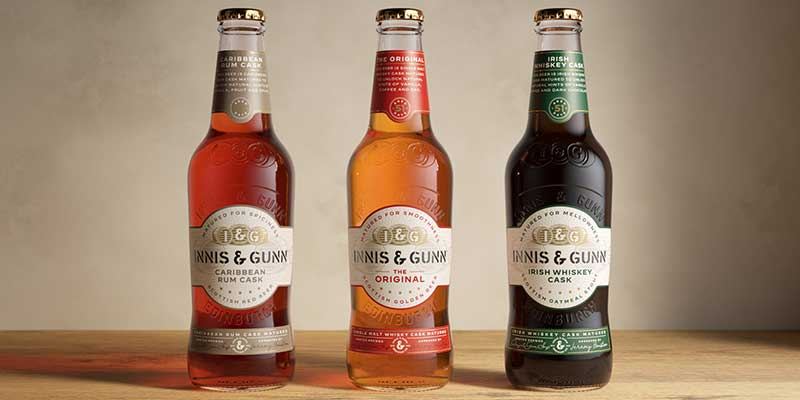 Innis & Gunn looks to brew future success with new look