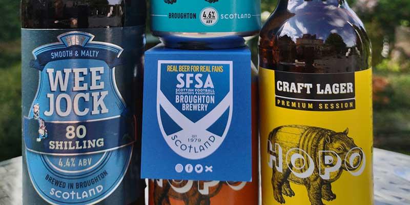 Broughton Brewery backs Tartan Army