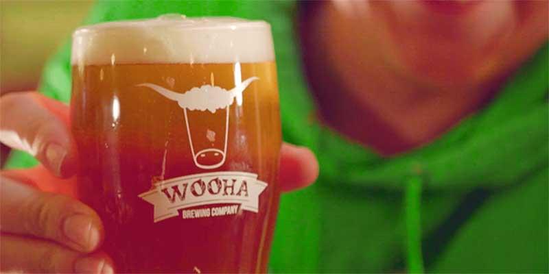 Pint of Wooha beer