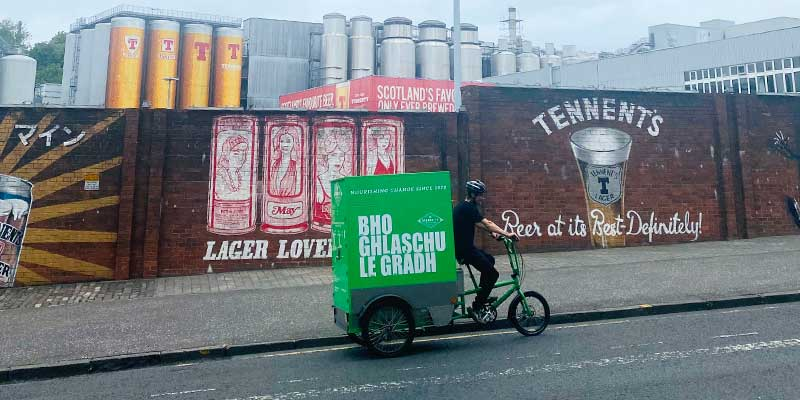 Greencity trials electric trike deliveries