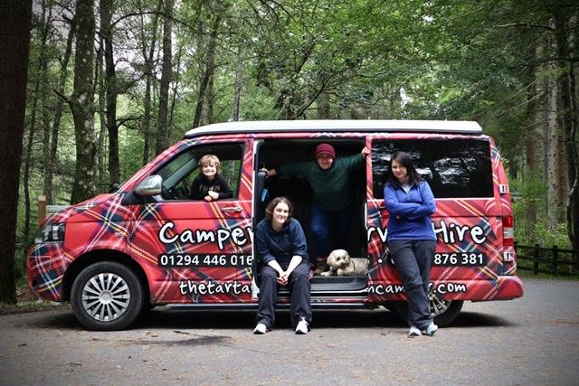 Tartan Camper Trip