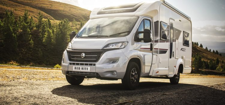 NORTH EAST 250 in the new luxurious Red Kite Motorhome
