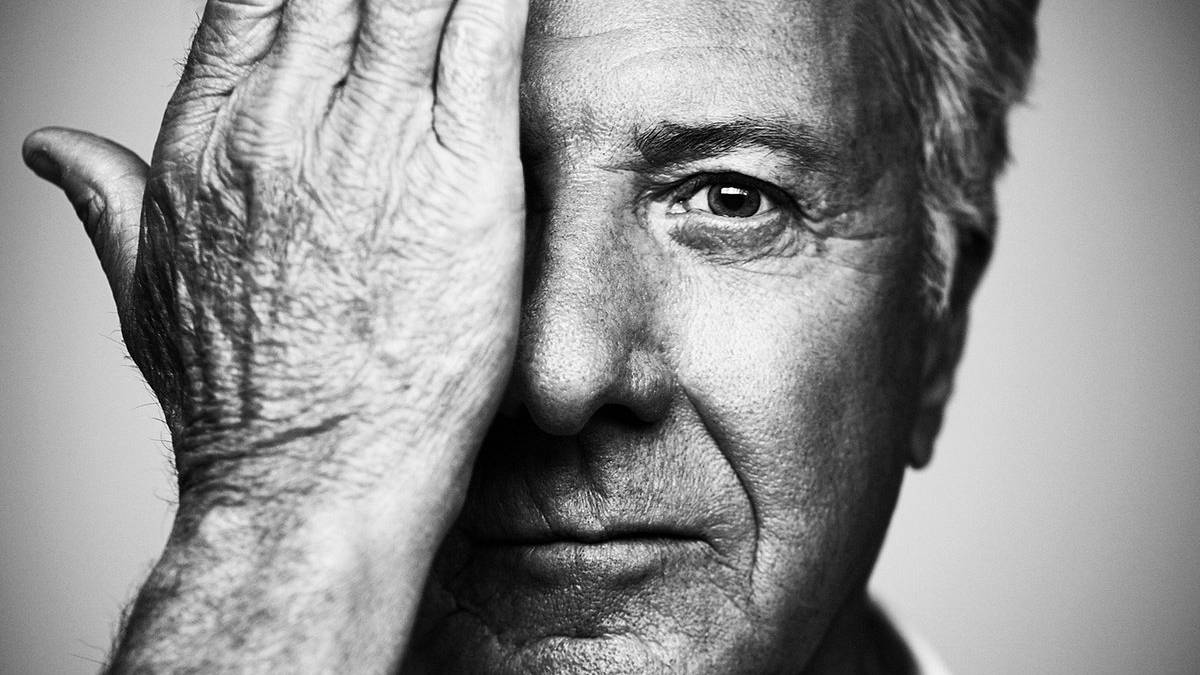 Portrait Dustin Hoffman : The Lucky Loser
