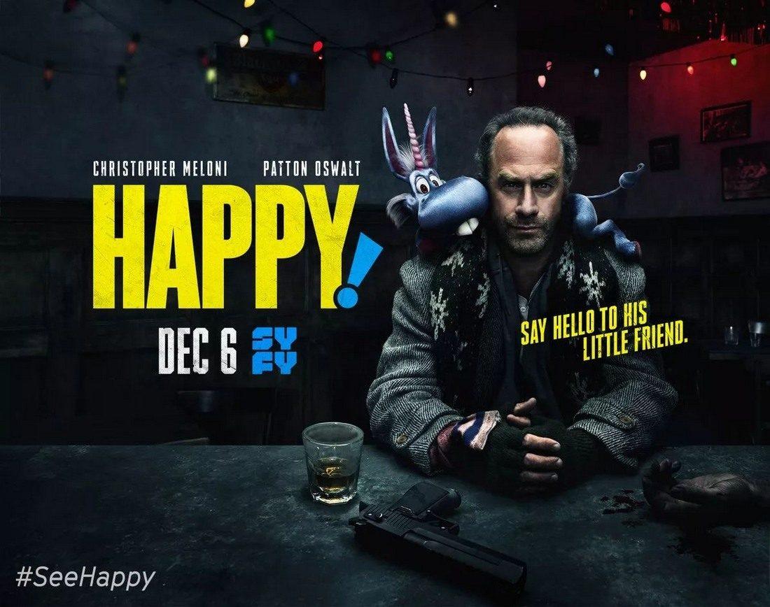 Critique Happy! saison 1 : Une licorne dans un monde de brutes