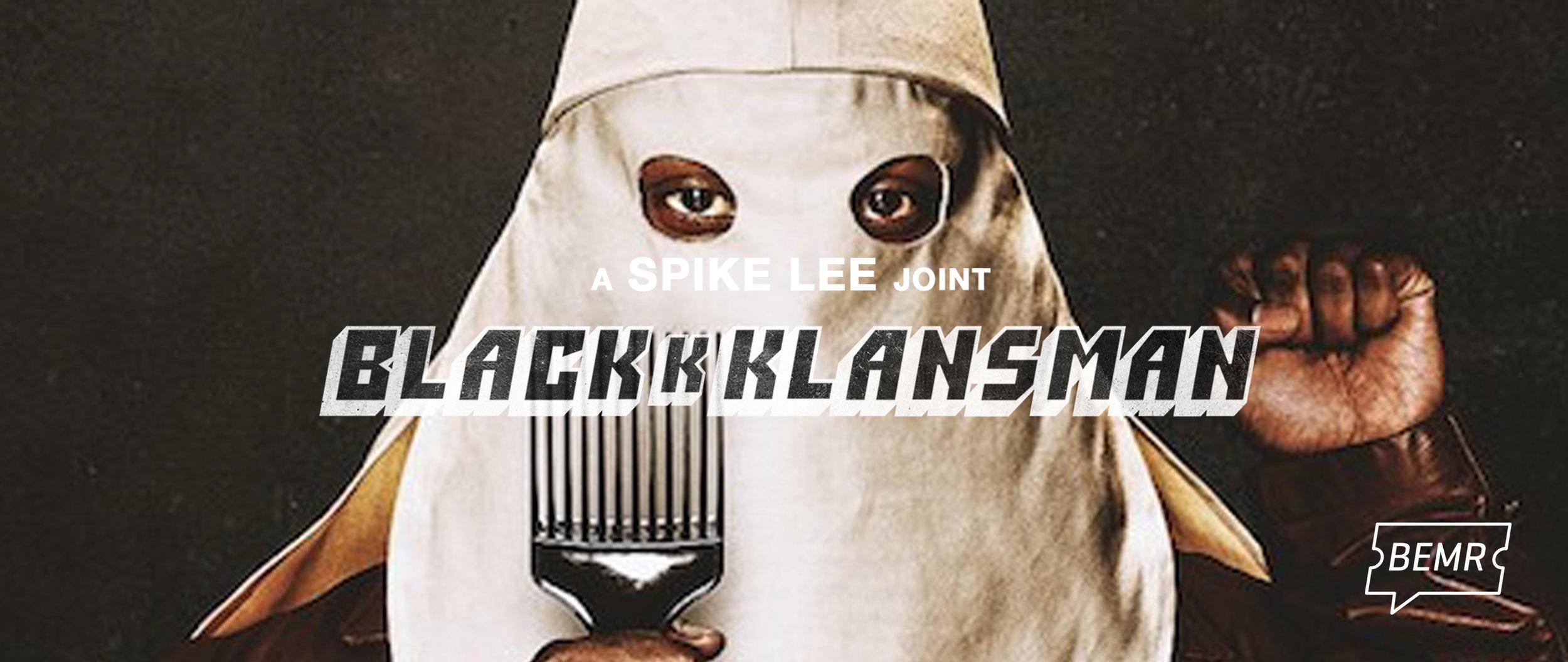 BEMR+blacKkKlansman+banner