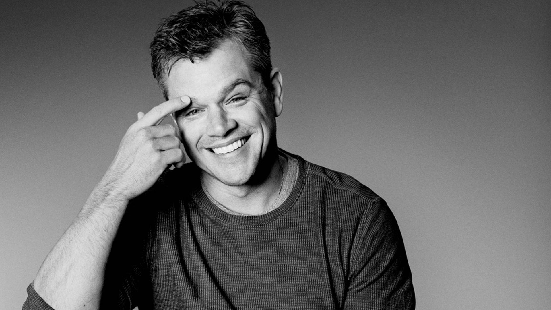 Portrait Matt Damon – Le cinéma dans la peau.