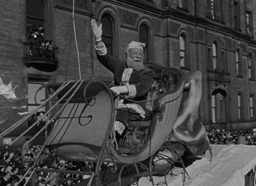 Critique «Le miracle de la 34ème rue» (1947) – Mon Nom est Père Noël.