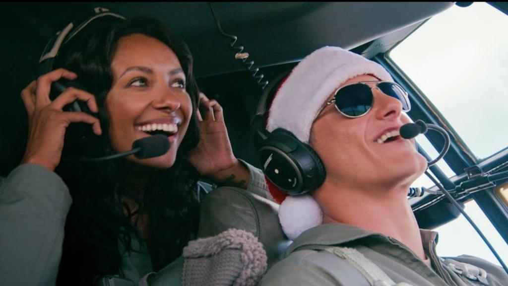 Critique «Un Noël tombé du ciel » (2020): Classique mais divertissant. - ScreenTune