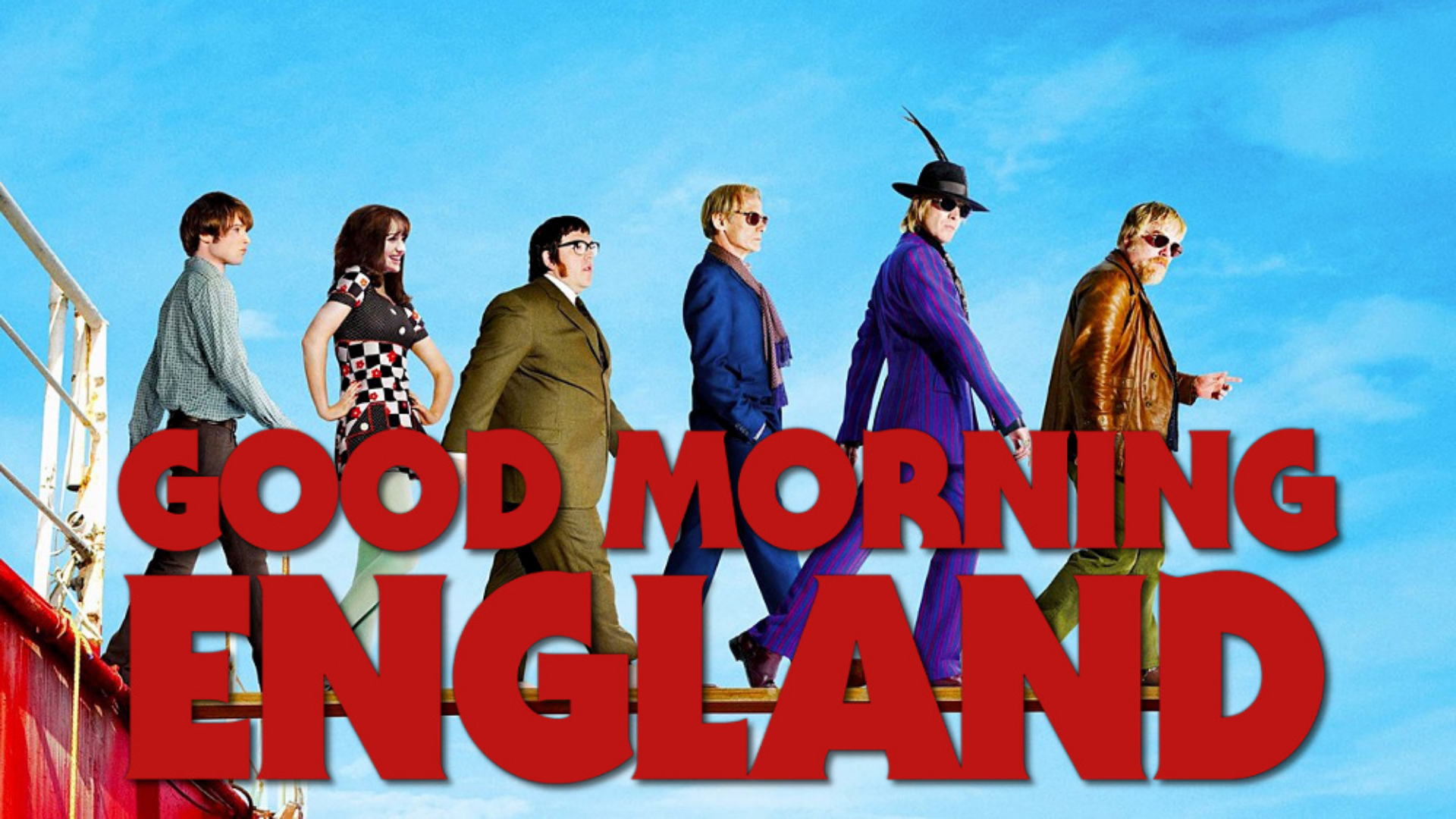Critique « Good Morning England » (2009) : Rock'n'roll en haute mer !