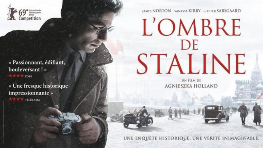 Critique «L'Ombre de Staline» (2019): Il n'y a pas de famine au Paradis! -ScreenTune