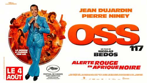 Critique «OSS117 : Alerte rouge en Afrique noire» (2021) : Bons baisers d'Afrique ! - ScreenTune