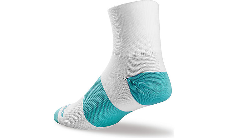 SPECIALIZED WOMEN'S RBX MID SOCKS - White