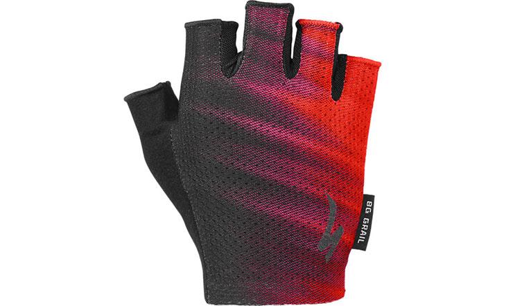 Specialized Women's Grail Gloves - Acid Lava/Black Faze