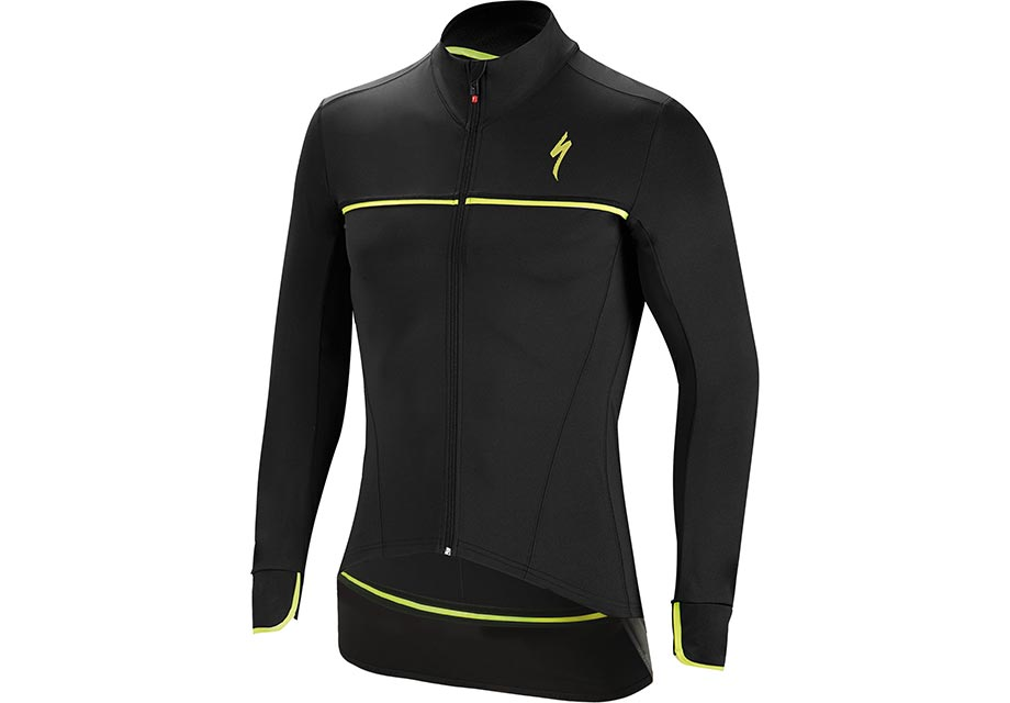 element-sl-elite-jacket-black-neon-yellow