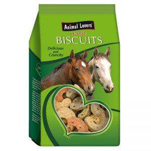 Hovformat hästgodis i grön påse
