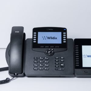 Image: Welcome Console Wildix IP Telefon