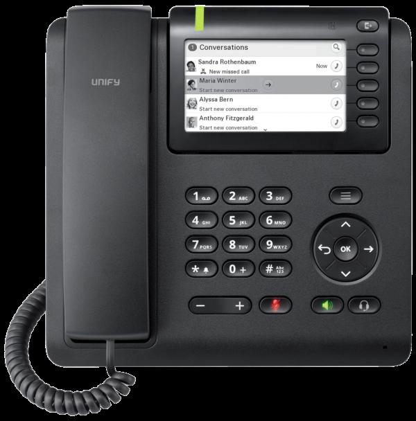 Openscape Deskphone CP600 front