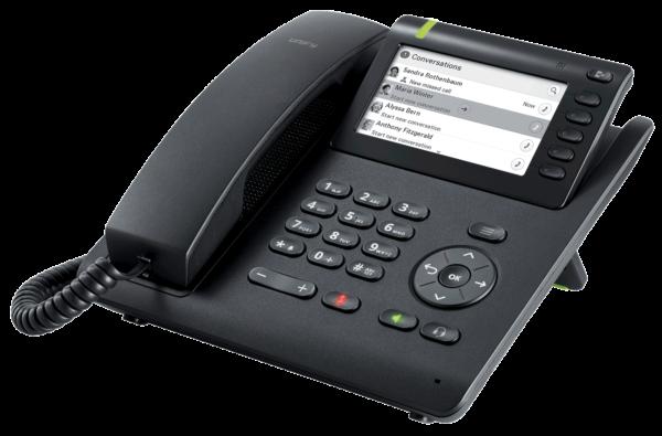 Openscape Deskphone CP600 seitlich