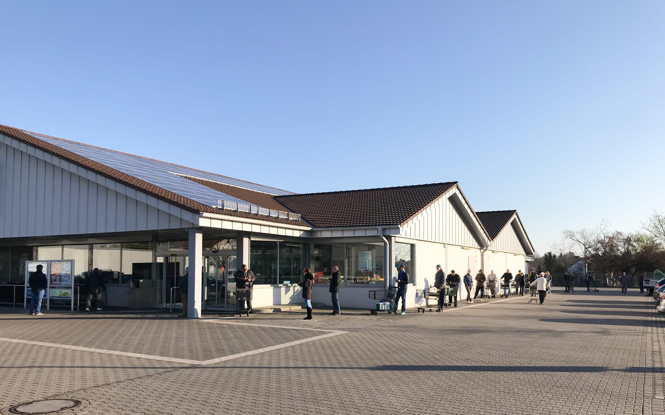 Supermarkt Sicherheitsdienst Frankfurt