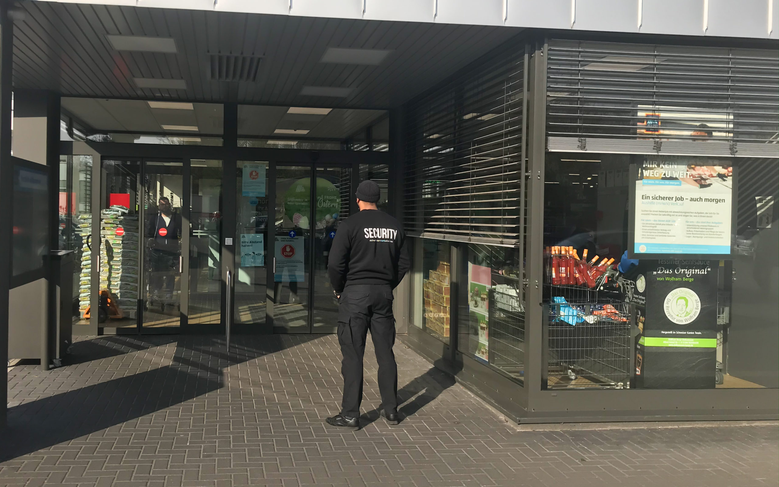 Supermarkt Security