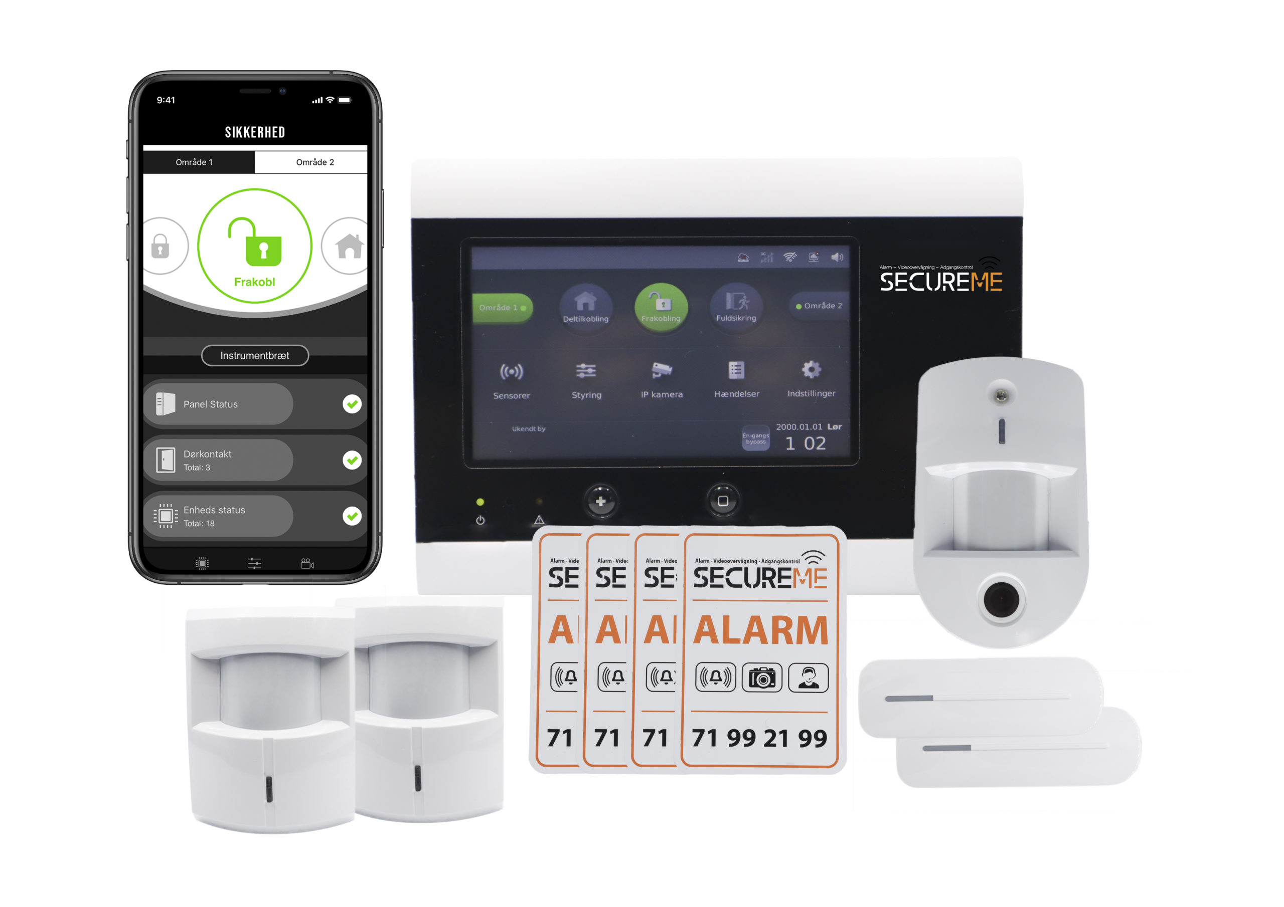 Touch pakke - SecureMe