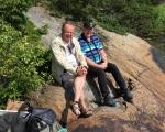 Roger Pettersson och Peter Rolfsson
