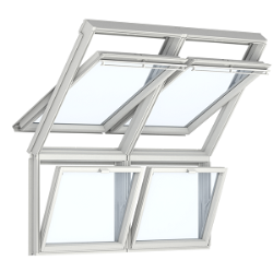 Eléments vitrés fixes fenêtre de toit et de façade VELUX