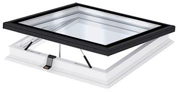 Fenêtre pour toit plat avec verre plan VELUX