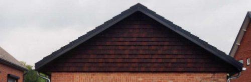 Bardage de façades et de pignons isolation thermique.