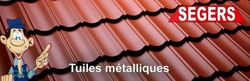 Tous travaux de toitures en tuiles nétalliques