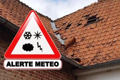 Réparation de toitures urgente