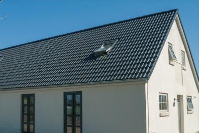 Construction toiture en tuiles Sneldek