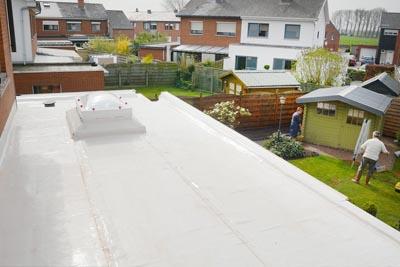 Toits plats réparation roofing Derbigum