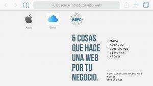 5 Cosas que hace una web por tu negocio seik agencia de diseño web en gipuzkoa