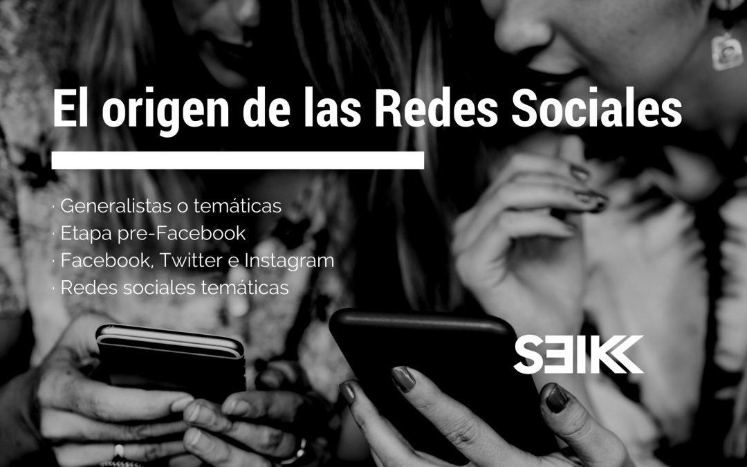 El origen de las redes sociales