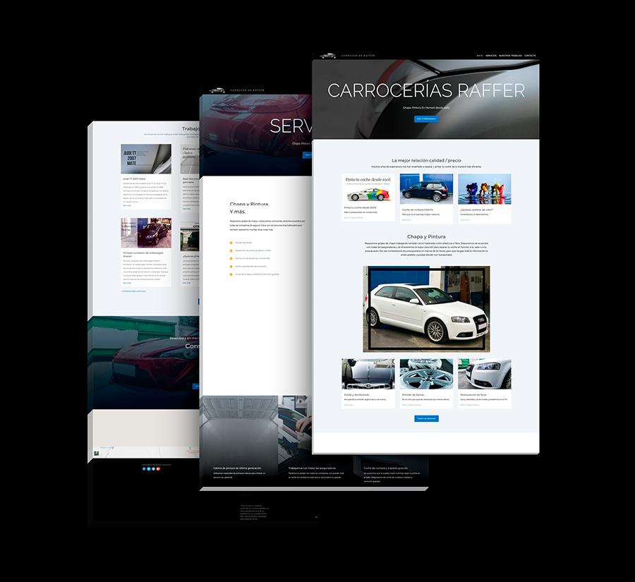 seik diseño web en gipuzkoa proyectos carrocerias raffer