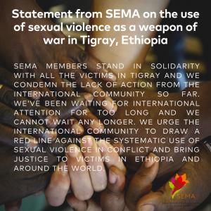 SEMA Statement Tigray_final